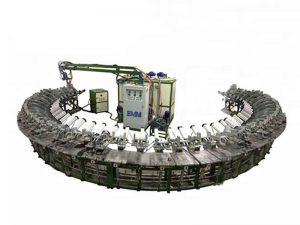 فوم پلی اورتان پلی اورتان پیوسته خط تولید فوم EPS